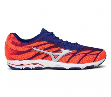 Mizuno - Wave Hitogami 3 women's running shoes (orange/blue)