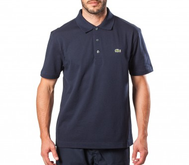 Lacoste - Basic Sports Ultralight men's Baumwollpolo (dark blue)