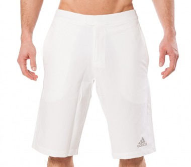 Adidas - Barricade Andy Murray bermuda shorts men's tennis shorts (white)