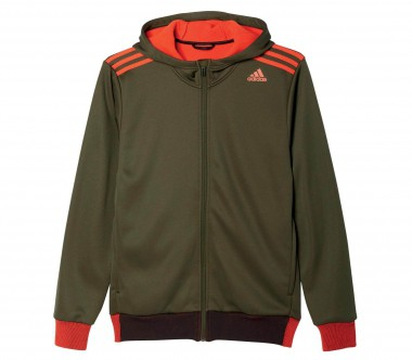 Adidas - Clima Refresh Climawarm men's Trainingshoody (green/orange)