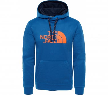 The North Face - Surgent hoodie men's training hoodie (light blue/orange)