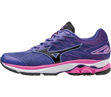 Mizuno - Wave Rider 20 women's running shoes (pink/purple)