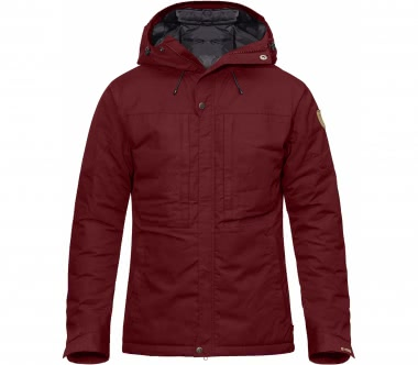 Fjällräven - Skogsö Padded men's outdoor jacket (red)