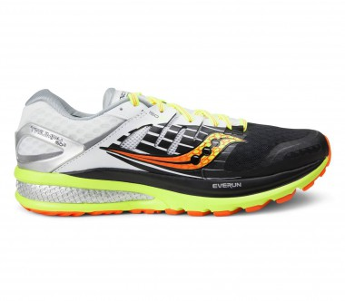 Saucony - Triumph Iso 2 men's running shoes (black/yellow)