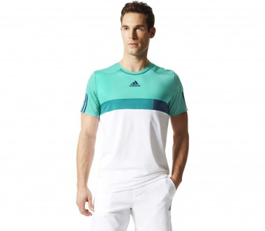 Adidas - Barricade Practice men's tennis top (tüturquoise/white)