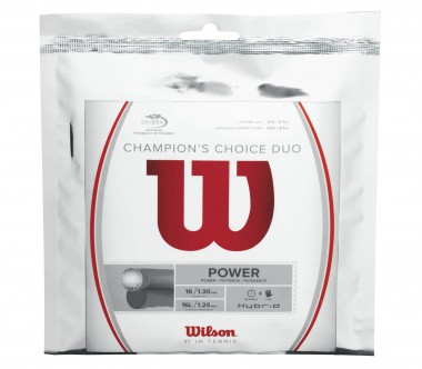 Wilson - Champions Choice Duo - 12,2m tennis strings