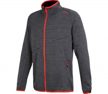 Ziener - Janirom men's fleece jacket (black/red)