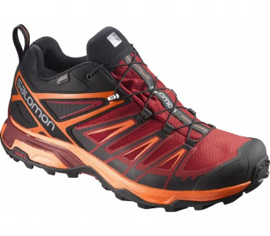 Salomon - X Ultra 3 GTX® men's hiking shoes (red/black)