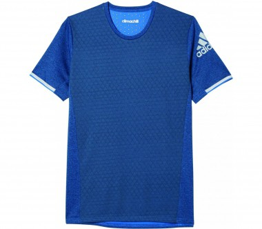 Adidas - Supernova Climachill Shortsleeve men's running top (blue)