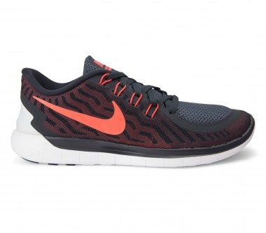 Nike - Free 5.0 men's running shoes (black/red)