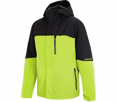 Ziener - Tujo men's ski jacket (green/black)