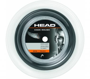 Head - Hawk Rough string roll (anthracite)