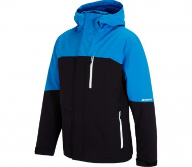 Ziener - Tujo men's ski jacket (black/blue)