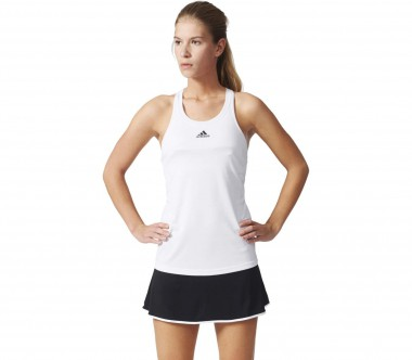 Adidas - Uncontrol Climachill women's tennis tank top (white/black)