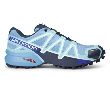 Salomon - Speedcross 4 CS women's running shoes (light blue/dark blue)