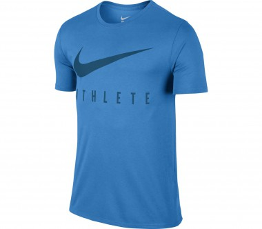 Nike - Dri-Fit Swoosh Athlete men's training shirt (blue)
