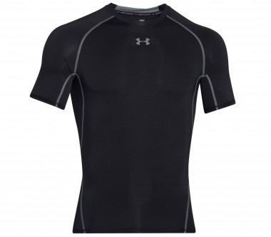 Under Armour - Armour Heatgear Shortsleeve men's training top (black)