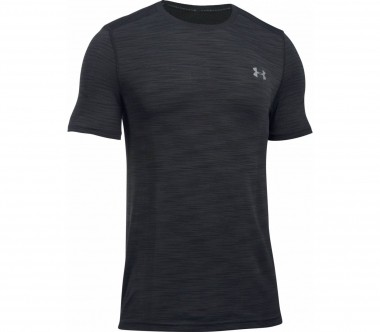 Under Armour - Threadborne Knit Shortsleeve men's training top (black)