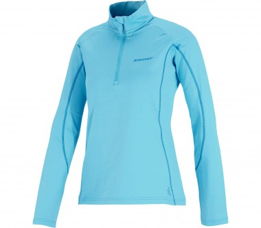 Ziener - Josefa long-sleeved Half-Zip women's functional top (blue)