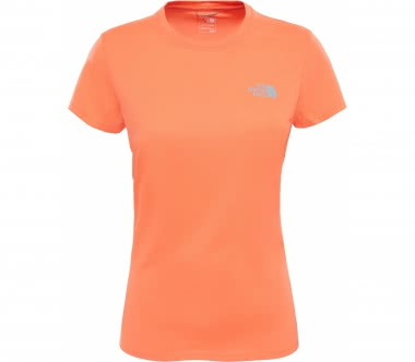 The North Face - Reaxion Amp Crew women's training top (orange)