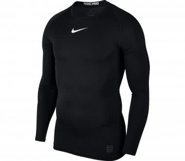Nike - Pro long-sleeved men's training top (black)