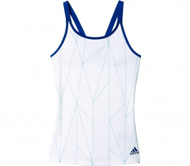 Adidas - Multifaceted Club women's tennis tank top (white)
