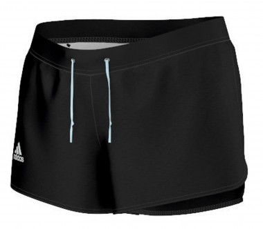 Adidas - Sequentials Core women's tennis shorts (black)