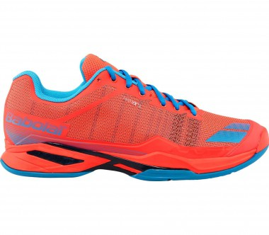 Babolat - Jet Team Clay men's tennis shoes (light red/light blue)