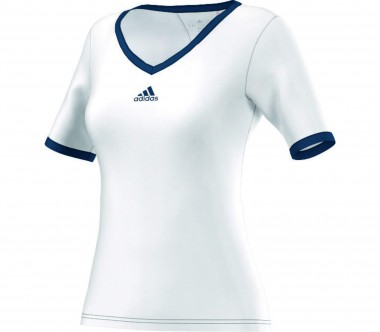 Adidas - Pro women's tennis top (white/dark blue)