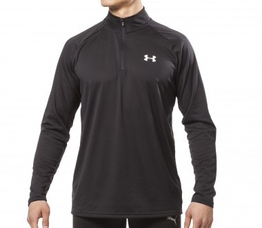 Under Armour - Tech 1/4 Zip men's running top (black)