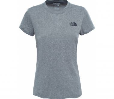 The North Face - Reaxion Amp Crew women's training top (grey)