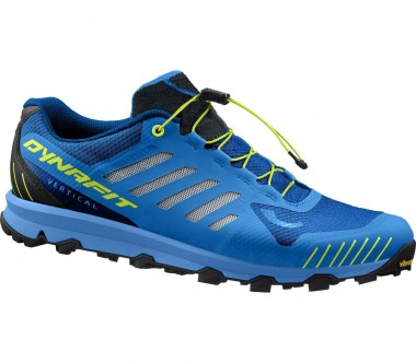 Dynafit - Feline Vertical men's trail running shoes (blue-yellow)