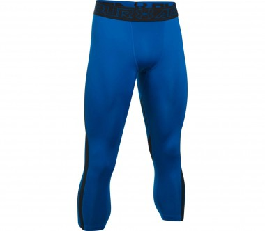 Under Armour - Heatgear Supervent 2.0 3/4 men's training pants (blue)