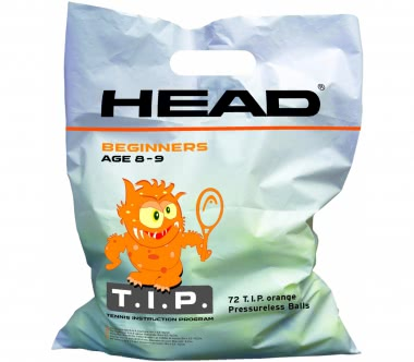Head - 72B TIP Polybag Tennisbälle (orange)