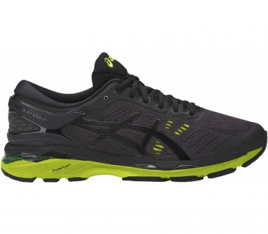 Asics - Gel-Kayano 24 men's running shoes (black/green)