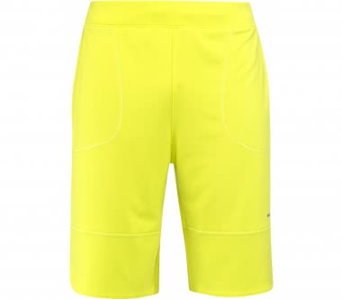 Head - Vision Tech men's tennis shorts (yellow)