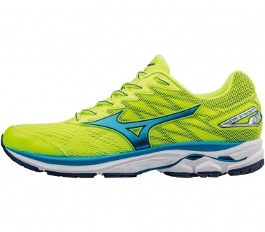 Mizuno - Wave Rider 20 men's running shoes (yellow/blue)