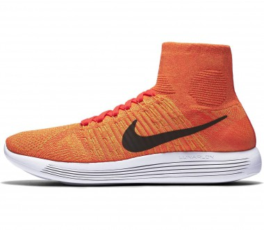 Nike - Lunar Epic Flyknit men's running shoes (orange/white)