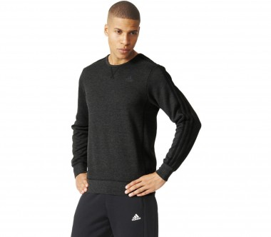 Adidas - Essentials 3S Crew French Terry men's training pullover (black)