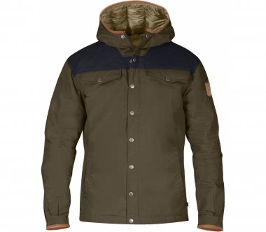 Fjällräven - Greenland No. 1 Down men's outdoor jacket (khaki/dark blue)