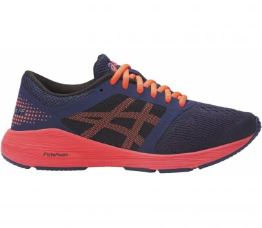 Asics - RoadHawk FF GS children's running shoes (blue/orange)