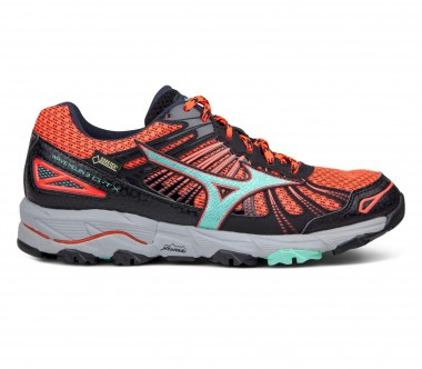 Mizuno - Wave Mujin 3 GTX® women's running shoes (orange/black)