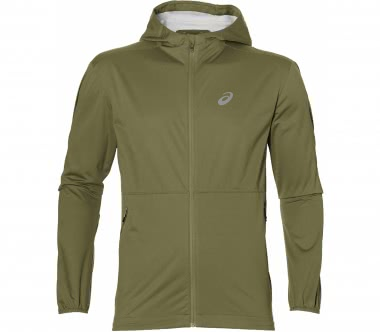 Asics - Accelerate men's running jacket (khaki)