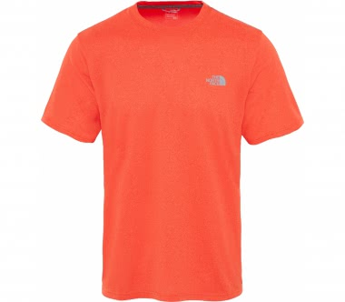The North Face - Reaxion Amp Crew Hommes la formation T-chemise (Orange)