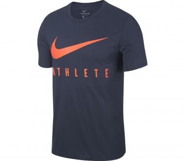 Nike - Dry Training men's training top (blue/orange)