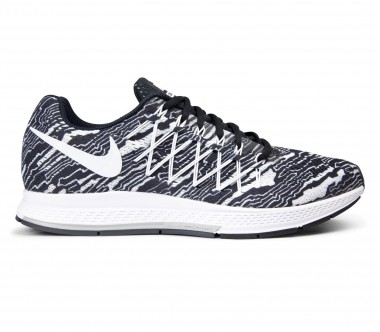 Nike - Air Zoom Pegasus 32 Print men's running shoes (black/white)