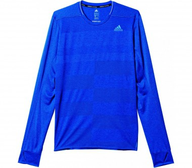 Adidas - Supernova long-sleeved men's running top (blue)