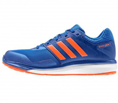 Adidas - Supernova Glide 7 Children running shoes (blue/orange)