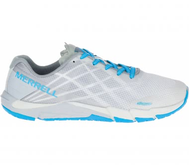 Merrell - Bare Access Flex women's mountain running shoes (grey/blue)