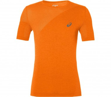 Asics - Seamless men's training top (orange)